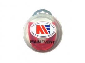 Main Event Boxing Single Gumshield Mouth Guard Red