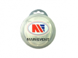 Main Event Boxing Single Gumshield Mouth Guard White