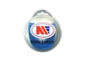 Main Event Boxing Single Gumshield Mouth Guard Blue