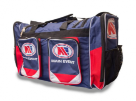 Main Event Boxing Sports Gear Kit Gym Bag Holdall Navy Large