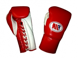 Main Event PFG 2000 Punchers Pro Fight Boxing Gloves Red White