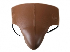 Main Event Heritage Pro Leather Boxing Groin Guard Protector.