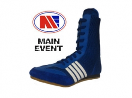 Main Event Apollo Boxing Boots - Blue / White