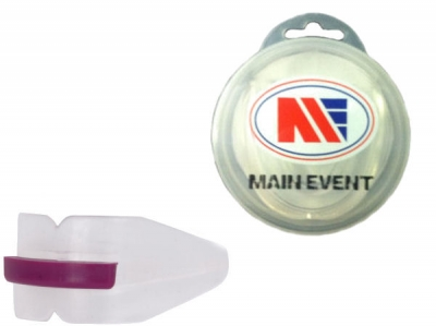Main Event Boxing Double Gumshield Mouth Guard Clear
