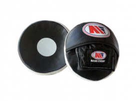 Main Event Leather Pro Reaction Scoop Punch Mitts Speed Focus Pads