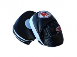 Main Event Leather Pro Reaction Cuban Punch Mitts Speed Focus Pads