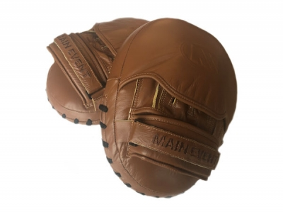 Main Event Boxing Heritage Pro Leather Coaches Air Focus Pads
