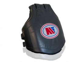 Main Event Boxing Pro Leather Contoured Coach Body Protector