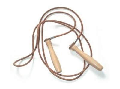 Main Event Boxing Pro Training Leather Jump Skipping Rope 9 Ft