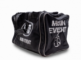 Main Event Boxing Sports Gear Kit Gym Bag Holdall Black Junior