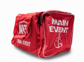 Main Event Boxing Sports Gear Kit Gym Bag Holdall Red Junior