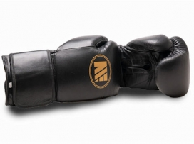 Main Event SSR 5000 Super Spar Pro Boxing Gloves Velcro Black