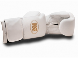 Main Event SSR 5000 Super Spar Pro Boxing Gloves Velcro White