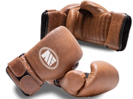 Main Event Heritage Leather Professional Coach Tech Spar Gloves