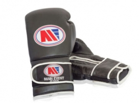 Main Event GTG 1000 Gym Leather Training Boxing Gloves Black
