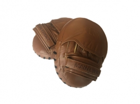 Main Event Boxing Heritage Pro Leather Coaches Mini Air Pads