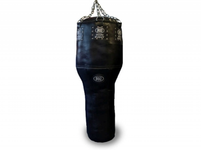 Main Event Professional Leather Angle Punch Bag 4FT - 50KG Black