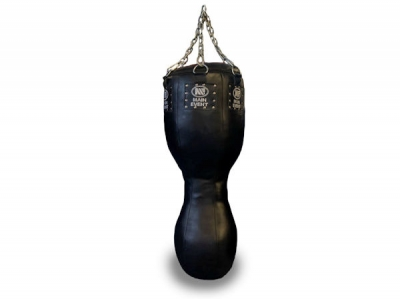 Main Event Professional Leather 3 in 1 Punch Bag 4FT - 50KG Black