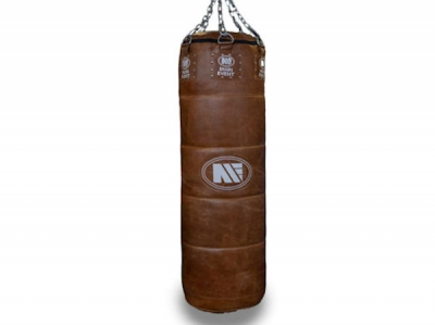 Main Event Heritage Professional Air Shock Leather Punch Bag 5FT - 80KG