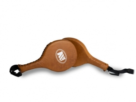 Main Event Heritage Leather Boxing Punch Target Focus Paddles