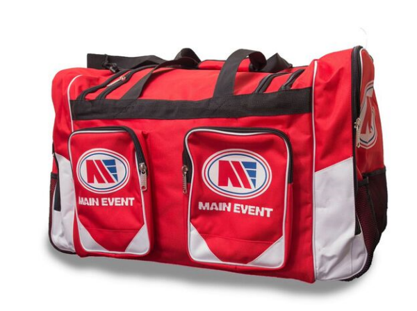 Main Event Boxing Sports Gear Kit Gym Bag Holdall Red Large